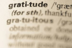 Developing a Gratitude Framework