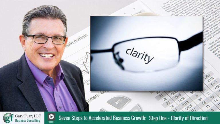 Gary Furr - 7 Steps - Step 1