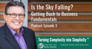 Is the Sky Falling? Getting Back to Business Fundamentals