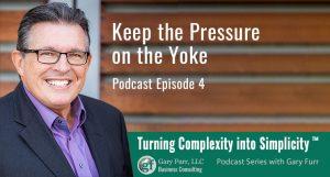 Keep the Pressure on the Yoke