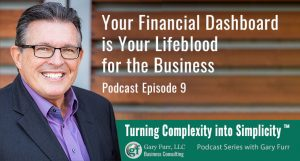 Your Financial Dashboard is Your Lifeblood for the Business