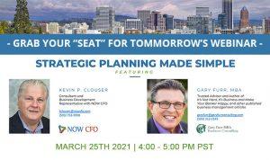 Strategic Planning Made Simple - Webinar Reminder